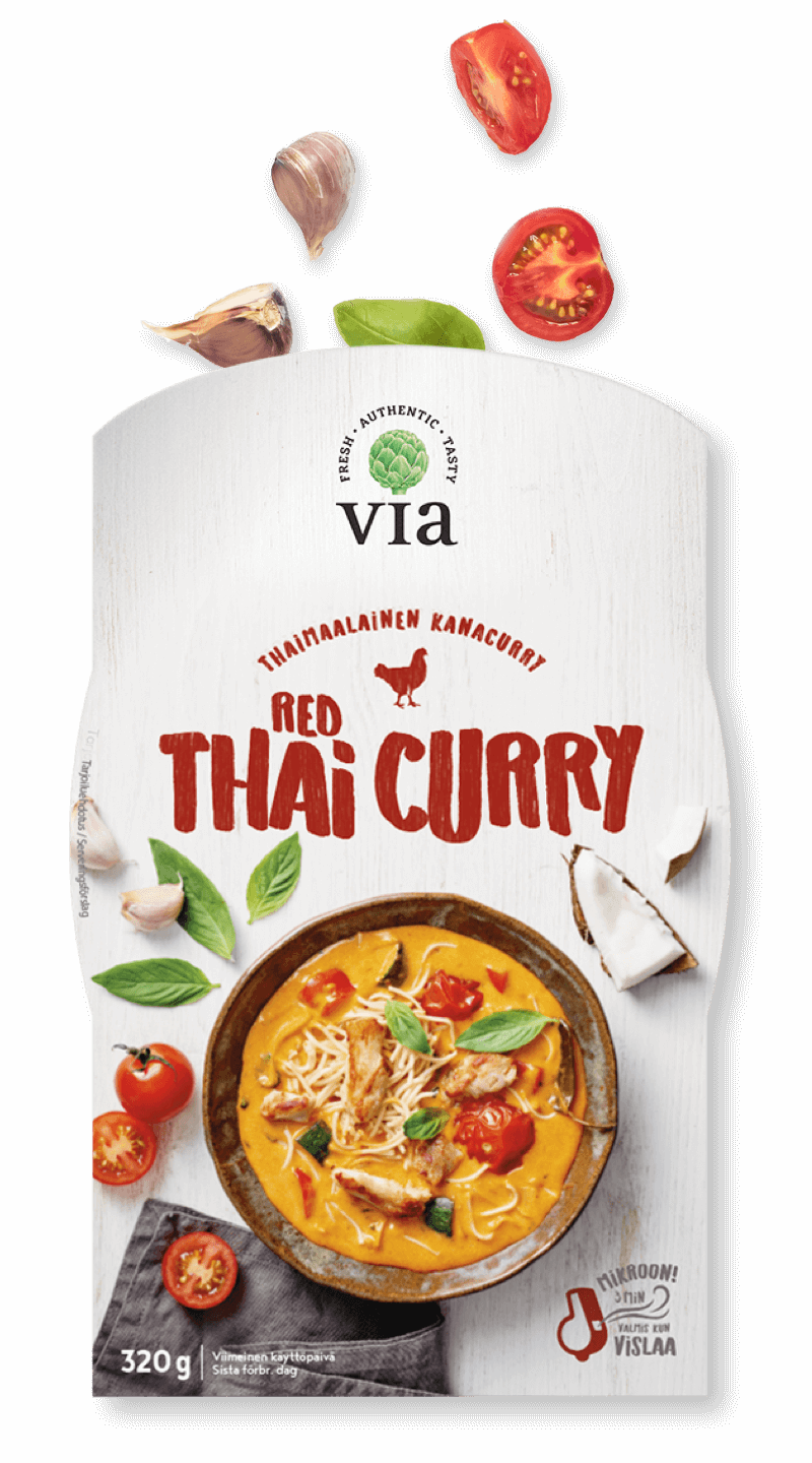 Via Red Thai Curry